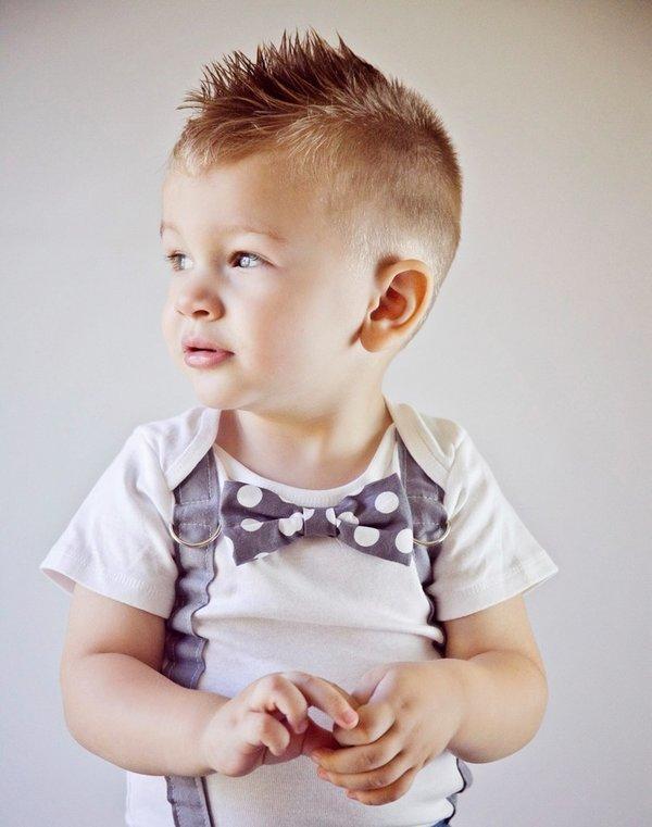 Стрижка для маленького мальчика
