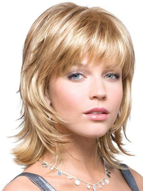 Каскад на короткую длину волос