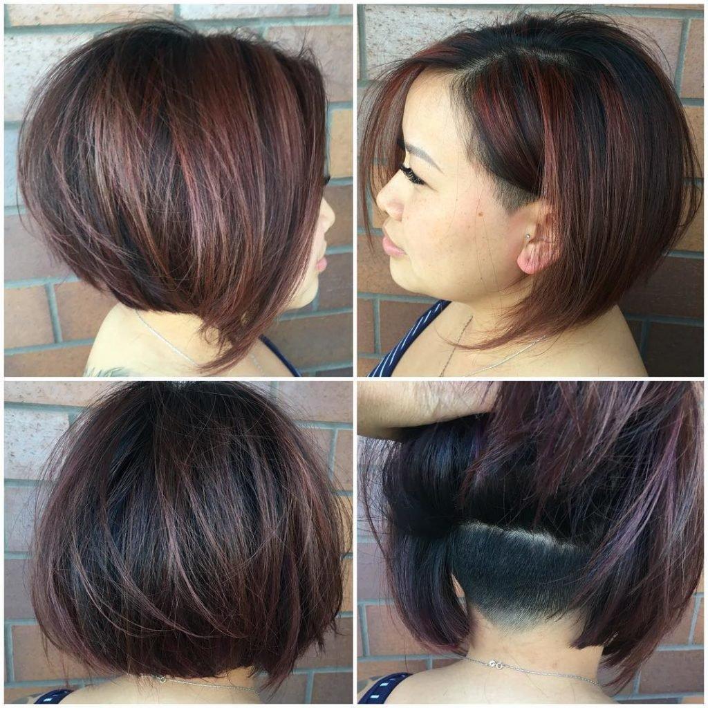 Мелирование на темные волосы каре с челкой