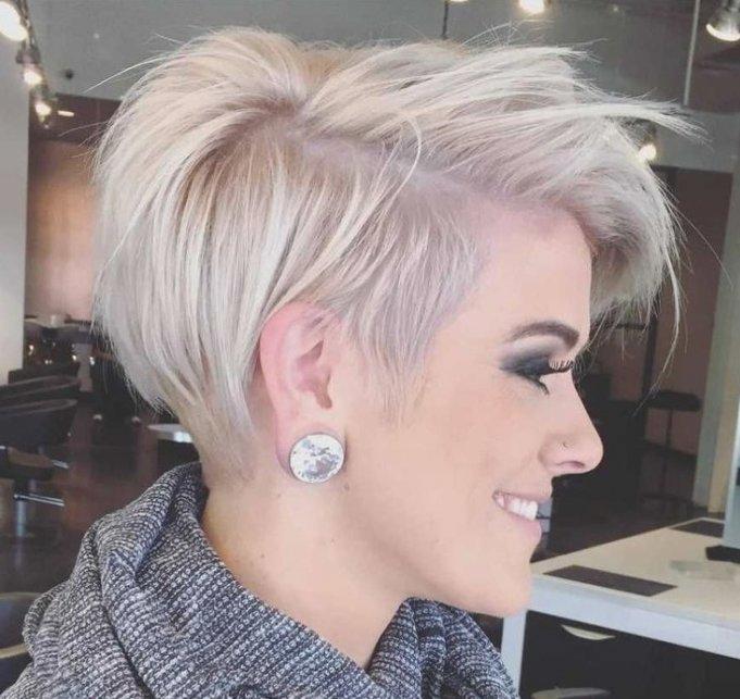 стрижка выбритый висок женская стрижка