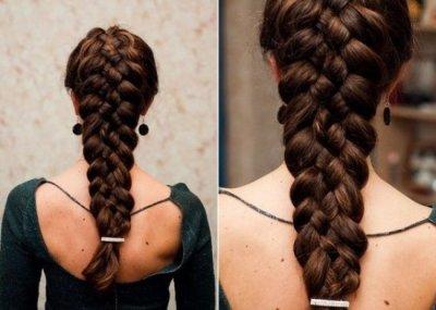 Коса из 5 прядей: варианты и способы плетения, пошаговая инструкция с фото
