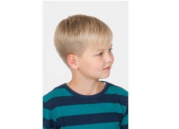 стрижка для мальчика удлиненная шапочка
