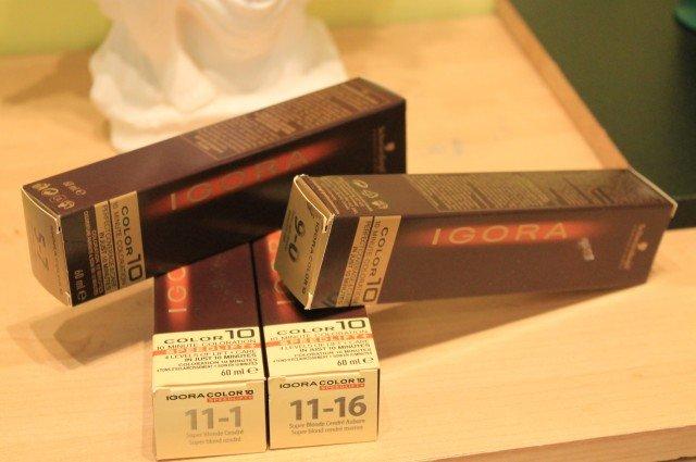 Оттенки и тона на примере Igora краски
