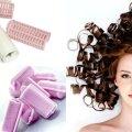 Прически с бигудями на средние волосы: фото, способы накрутки