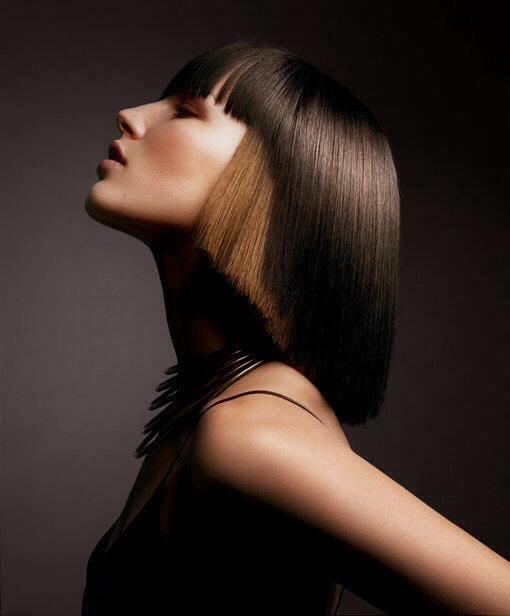 стрижка сессун на длинные волосы