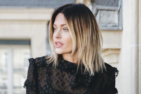 стрижка молодежная женская на средние волосы фото