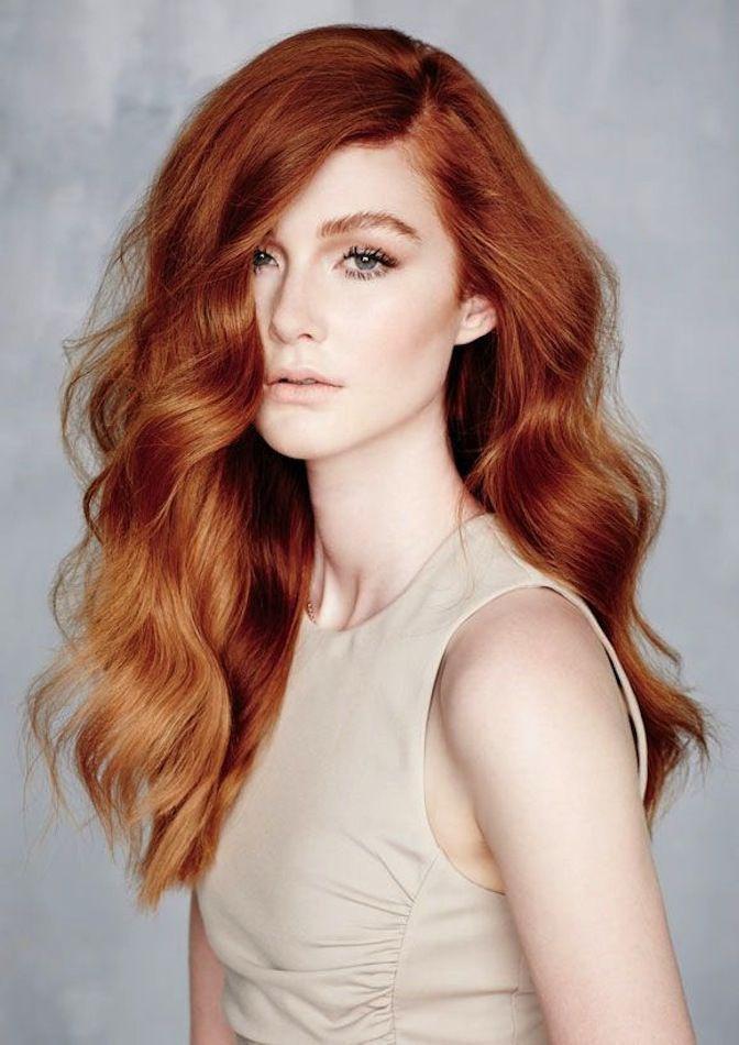 Янтарные волосы