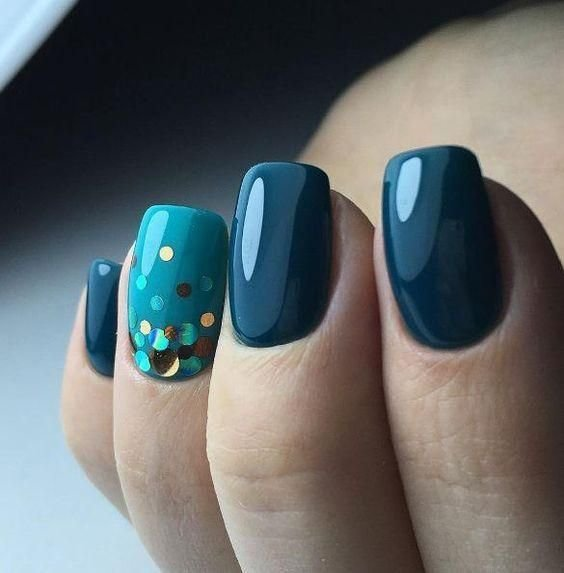 обычный маникюр на коротких ногтях