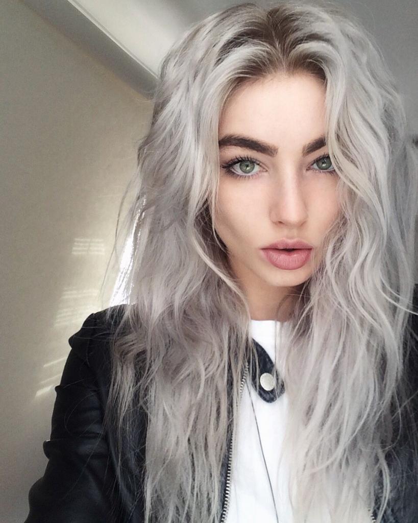 краска для белого цвета волос
