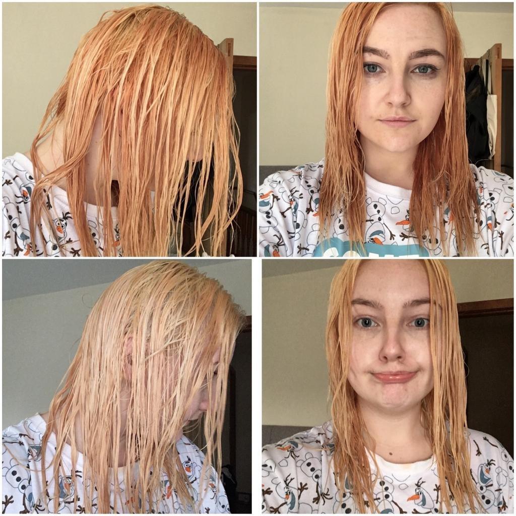 как осветлить волосы в домашних условиях краской