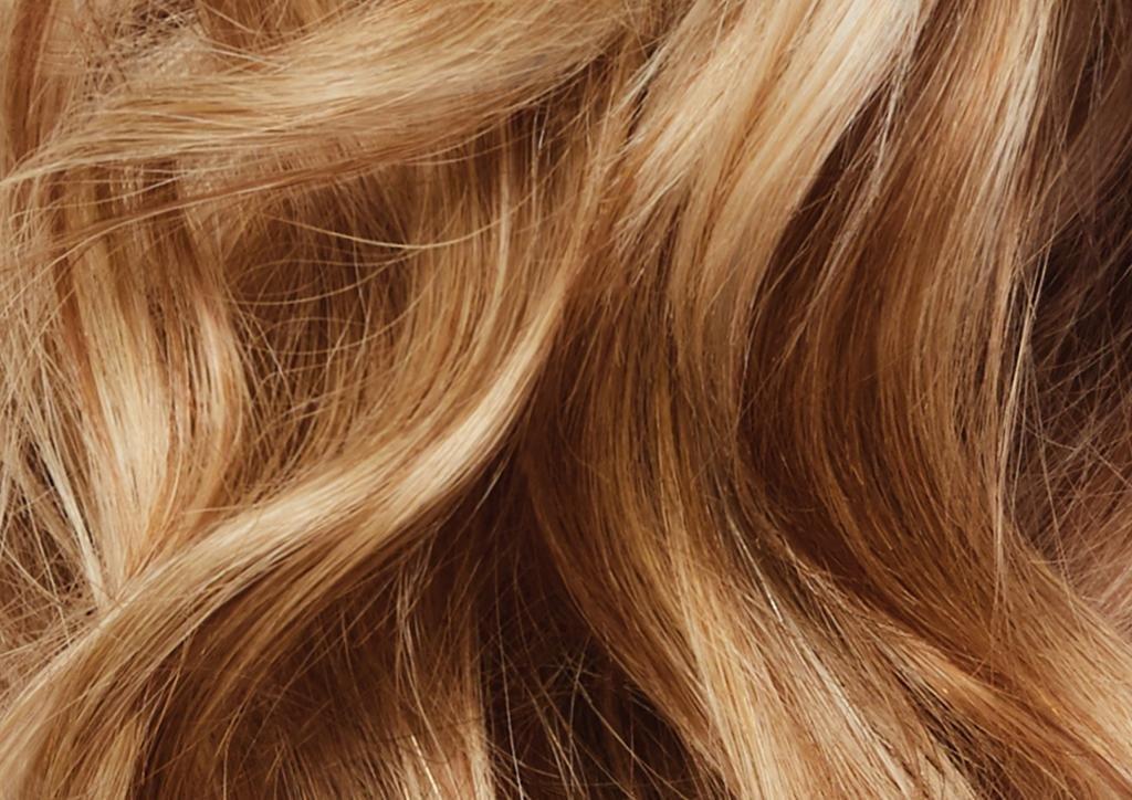 высветленные волосы