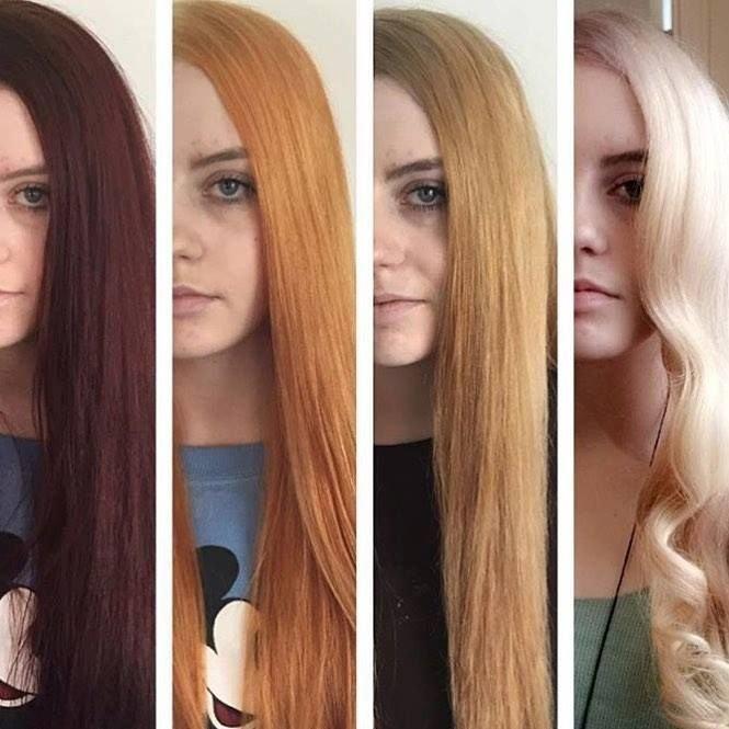осветление волос с помощью супры