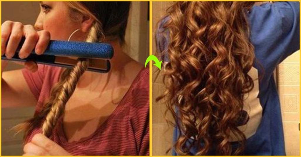 как накрутить волосы быстро