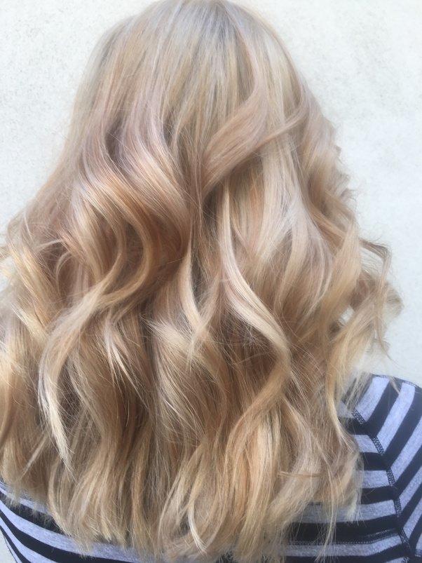 цвет волос платиновый