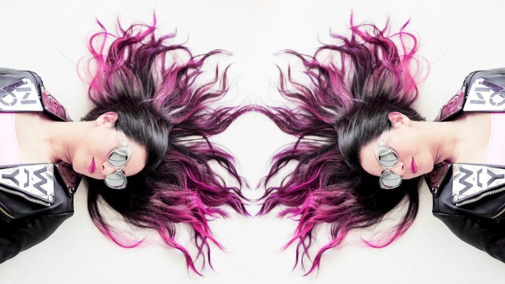 волосы в популярном стиле омбре