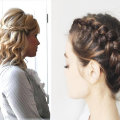 Красиво собранные волосы: модные идеи причесок на каждый день