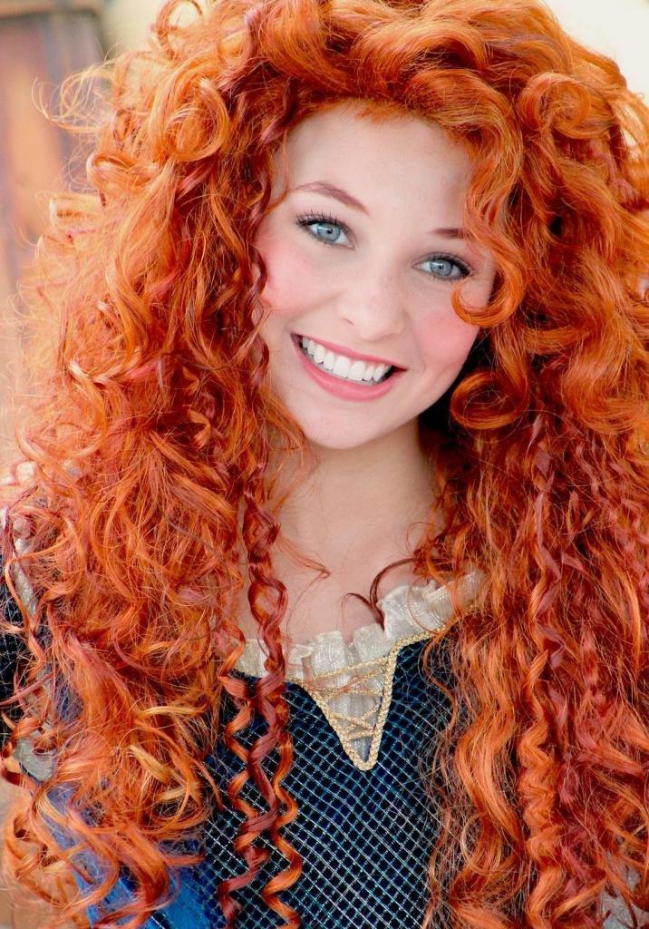 рыжие оттенки красок для волос фото