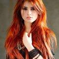 Рыжие оттенки волос: фото, как подобрать