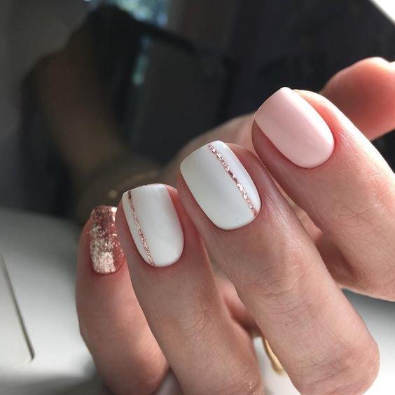 образцы ногтей покрытых гелем рисунки