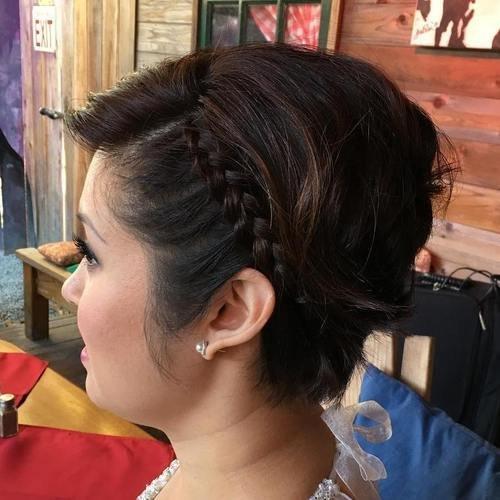 Для волос ирокез