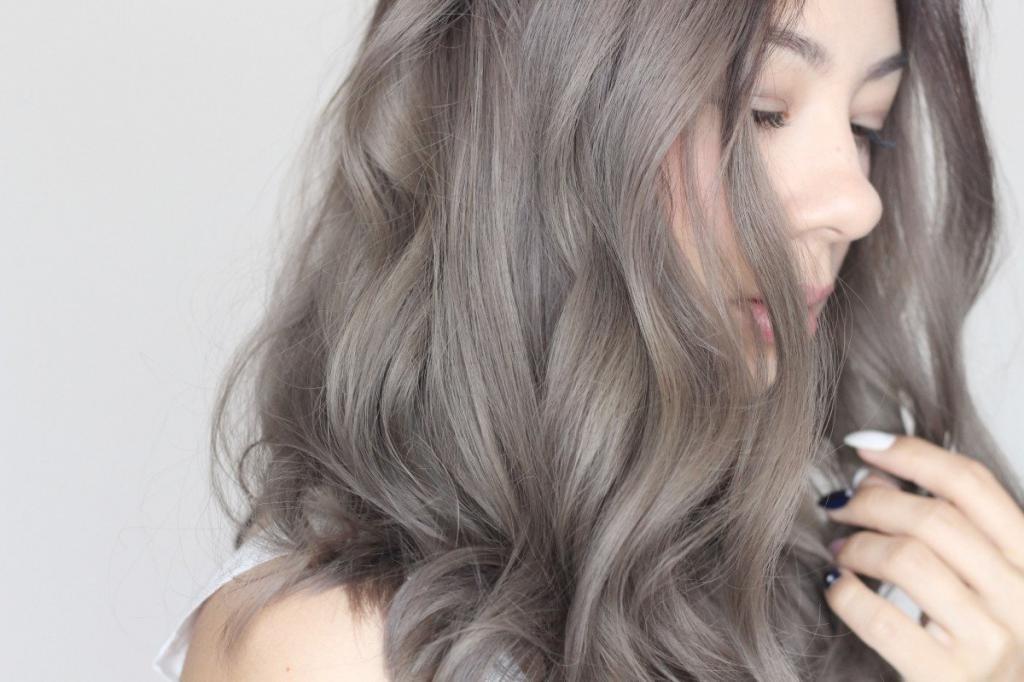 окрашивание волос в русый цвет пепельный