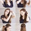 Прически на длинные распущенные волосы: стильные идеи и варианты, пошаговая инструкция с фото