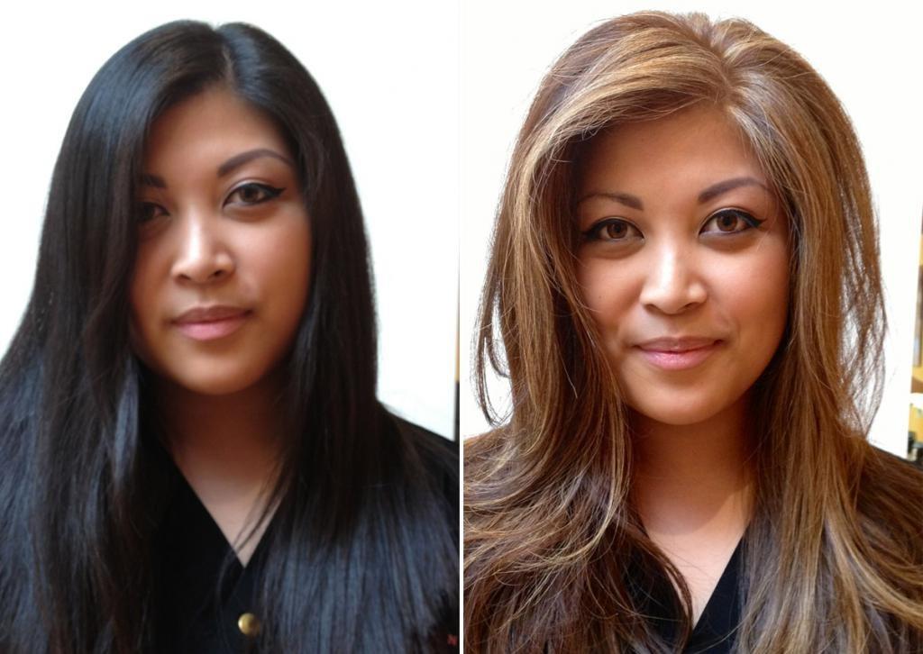 как окрашивание волос меняет образ