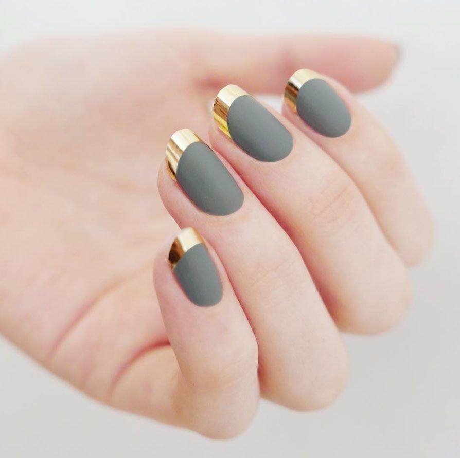 ногти круглые дизайн