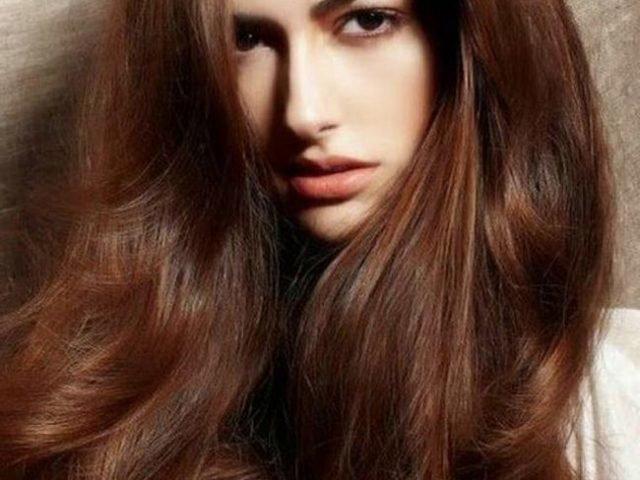 коричневый цвет волос краска