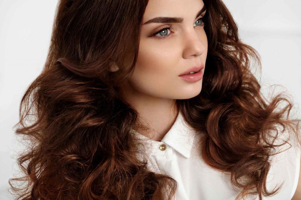 фото коричневый цвет волос без рыжины и красноты