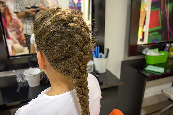 быстрые детские прически на длинные волосы