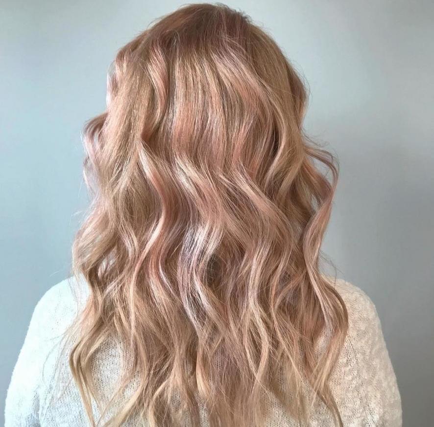 Нюдовый блонд