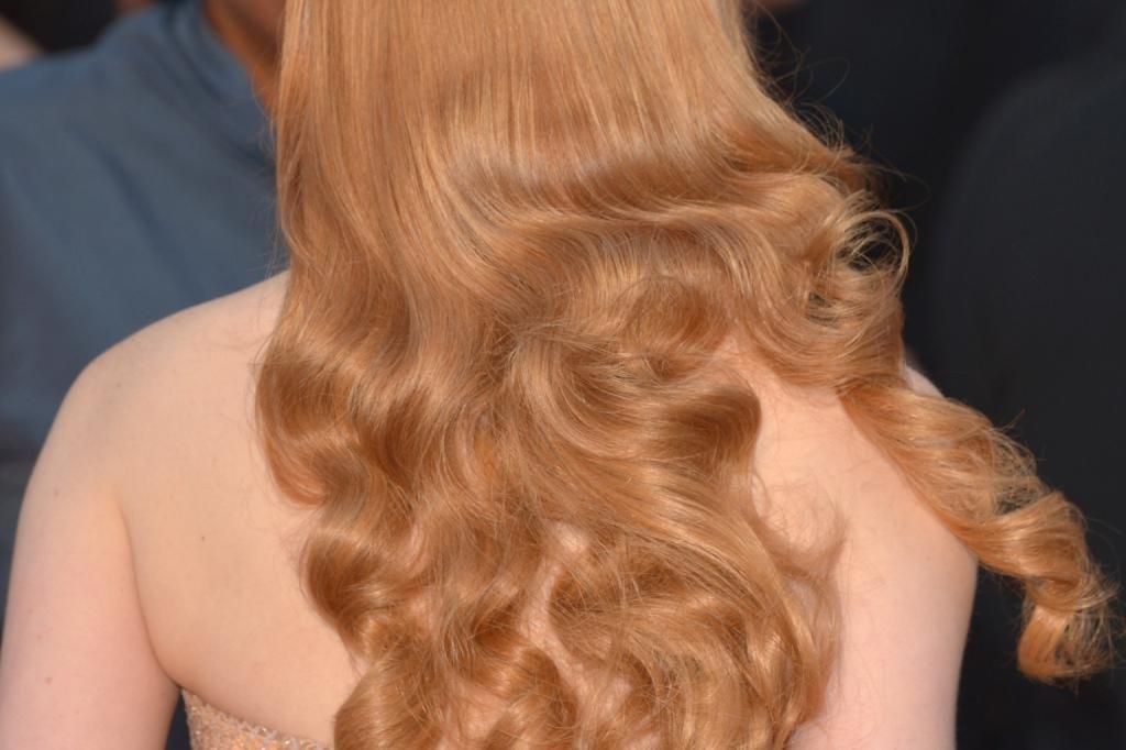 имбирный оттенок волос