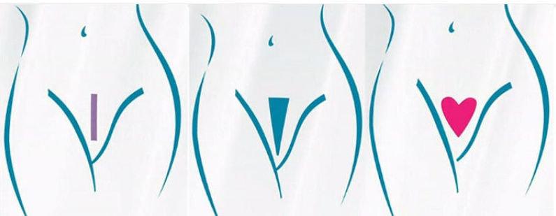 Бикини дизайн полоска с фото