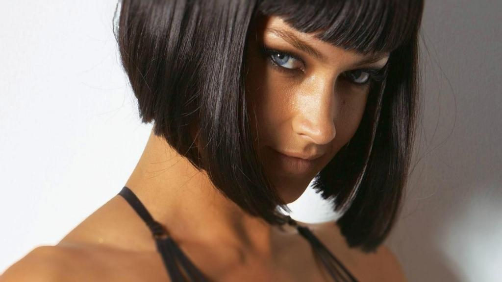 Каскад каре цвет волос