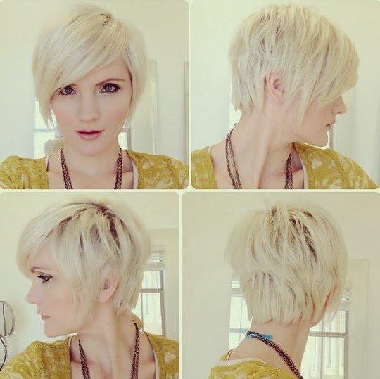Стрижки на короткие волосы вид