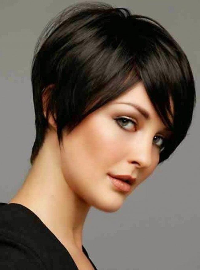 Стрижки на короткие волосы асимметрия
