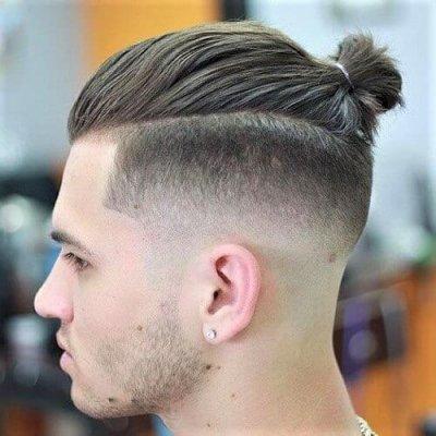Мужская прическа Top Knot: как отрастить волосы