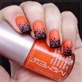 Оранжевый маникюр: дизайны ногтей и немного об уходе за ними