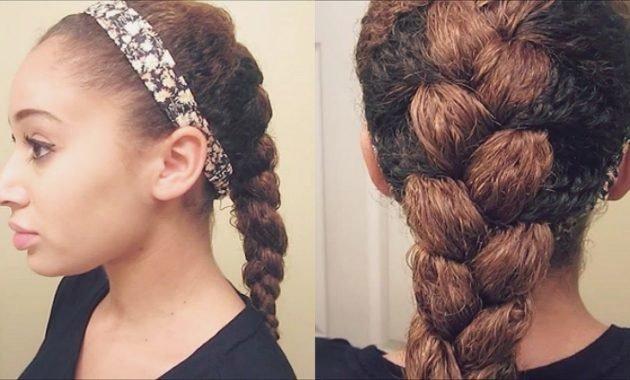 Плетение кос для волн