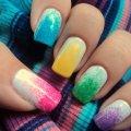 Маникюр разными цветами: техника выполнения, использование ярких и сочных цветов, пастельные оттенки лака, идеи маникюра с фото