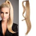Как сделать хвост из накладных волос на заколках?