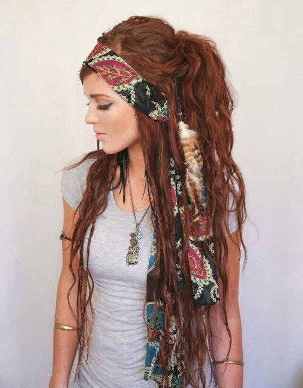 де-дреды с шарфиком