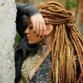 Де-дреды на длинные волосы (фото). Особенности прически