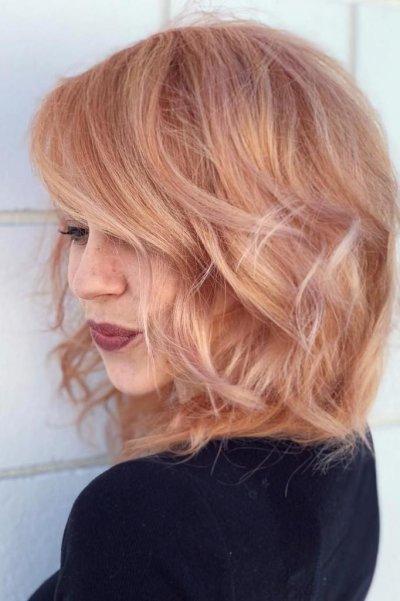 """Цвет волос """"клубничный блонд"""": фото, обзор красок, кому подойдет"""