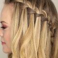 Как плести косу-водопад: пошаговая инструкция с фото