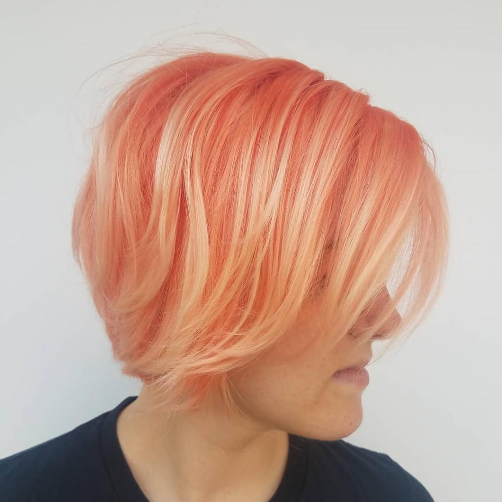 окрашивание балаяж на короткие волосы фото