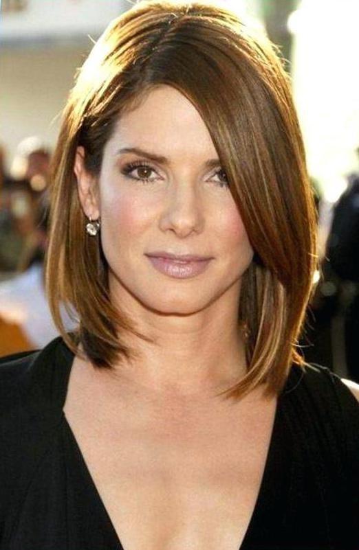 Стрижка для прямоугольного лица и тонких волос