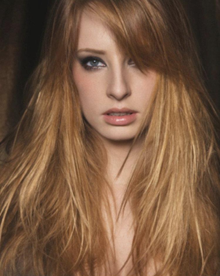 медный оттенок светлых волос