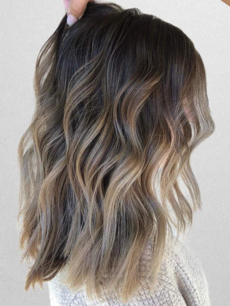 Балаяж на волосах